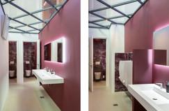 Realisatie toiletgroep in stijl. Georgiuskerk Terborg.