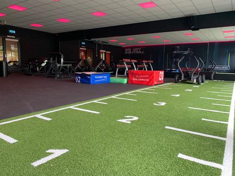 Overzicht free fit zone, Ketelaar sport Ulft