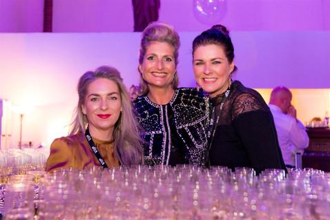 Sandra Overbeek, Priscilla Sevink en Janneke Godschalk.