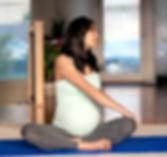 Embarazada mantenerse en forma Mujer
