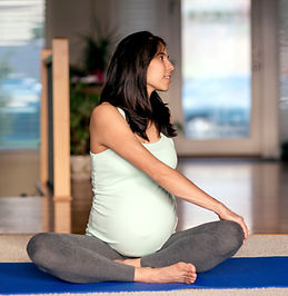 Femme enceinte rester en forme