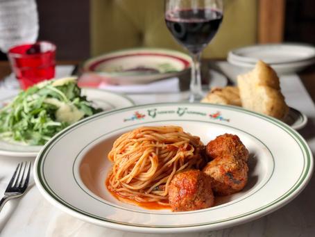 Spaghetti & Meatballs with Ceasar $25