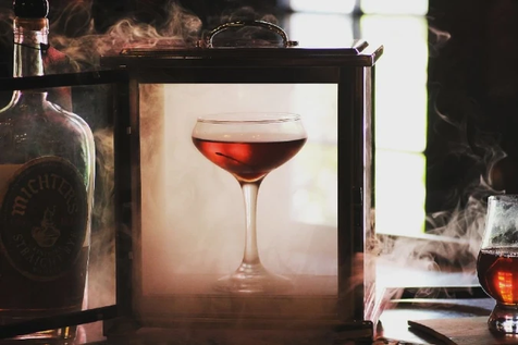 Michter's Smoked Manhattan