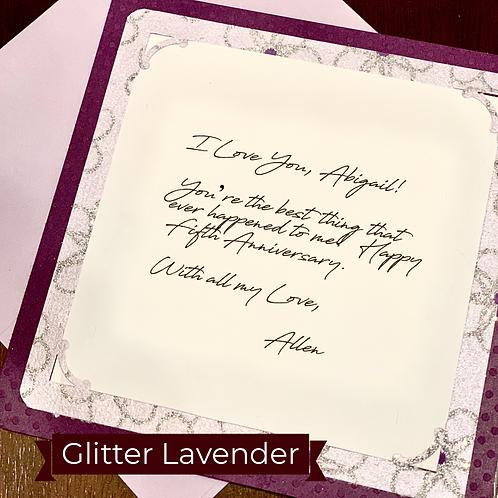 Glitter Lavender