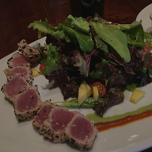 Pan-Seared Ahi Tuna Salad | The Village Anchor