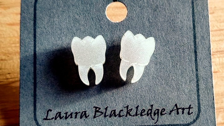 Mini Pearl Teeth Studs