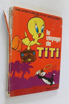 Livre Bd Le Voyage De Titi Vintage Dessin Anime