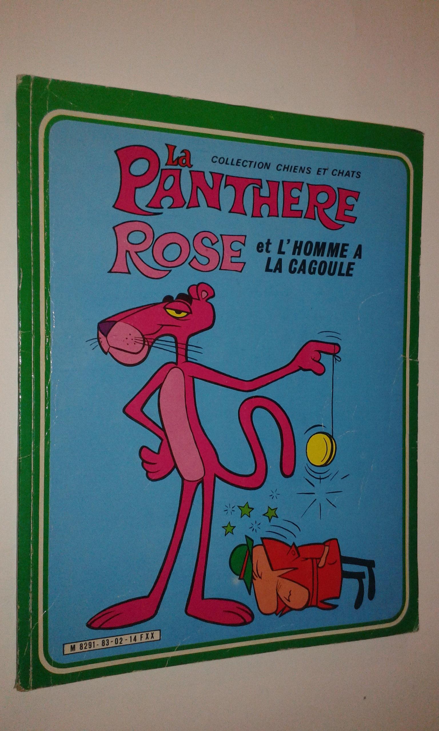 Livre Bd La Panthere Rose N 14 1983 Vintage Dessin Anime Sage Edition