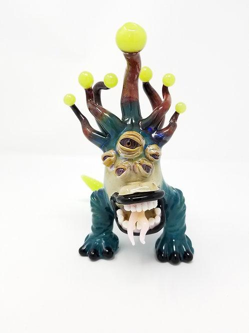 Kyruglass teal full standing monster