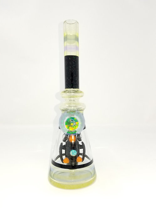 Rjglass opal penguin straight tube