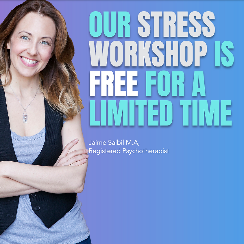 DON'T LET STRESS BE A MESS - STRESS WORKSHOP