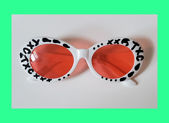 Clout Goggles Customized by Tyler