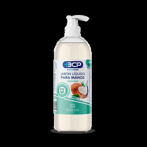 Jabón líquido para manos coco