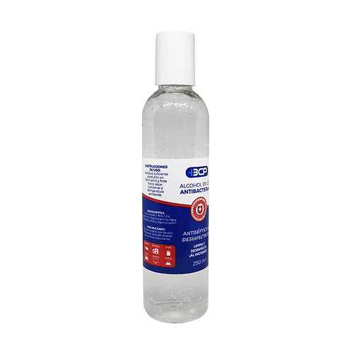 Gel antibacterial 250 ml.