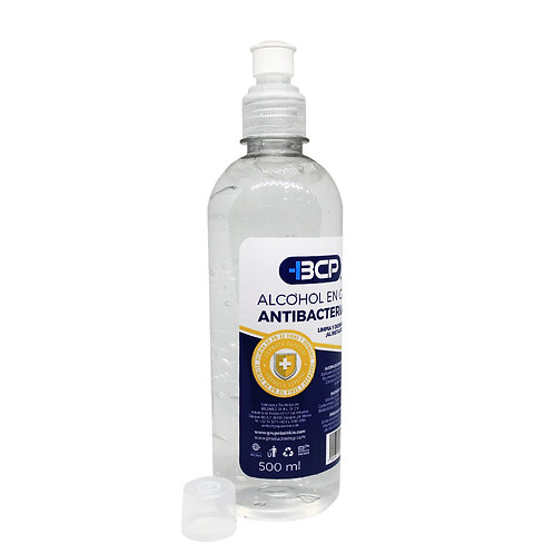Gel antibacterial 500 ml.