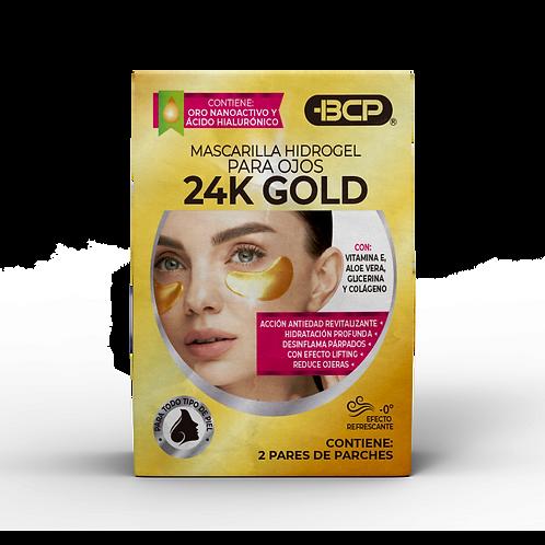 Parches para ojos 24k gold