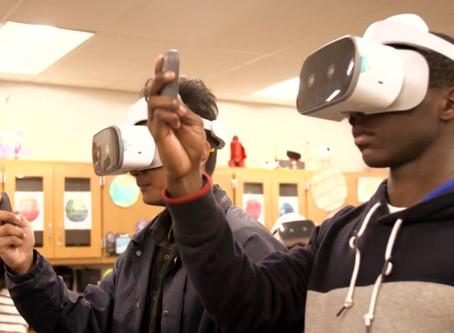 VR in de klas!
