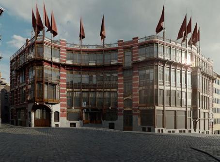 Het verdwenen volkshuis van Victor Horta komt opnieuw tot leven!