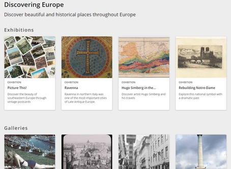 Het Europeana Platform: met nieuwe technologie richting duurzaam toerisme