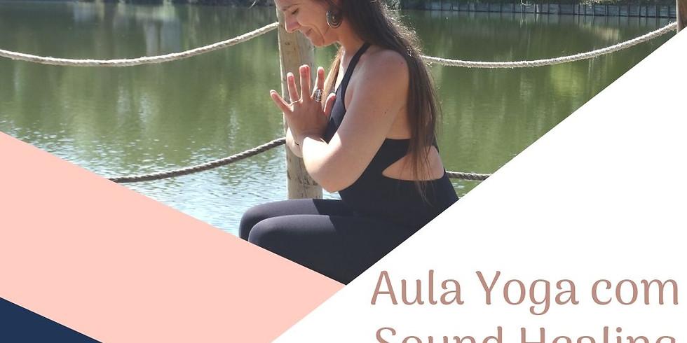 Aula de Yoga c/ Sound Healing