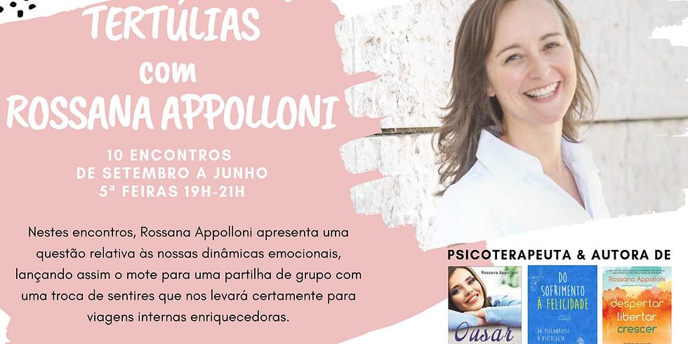 Tertúlias com Rossana Appolloni