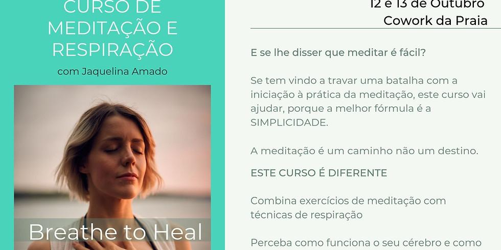 Curso de Meditação e Respiração | BREATHE TO HEAL