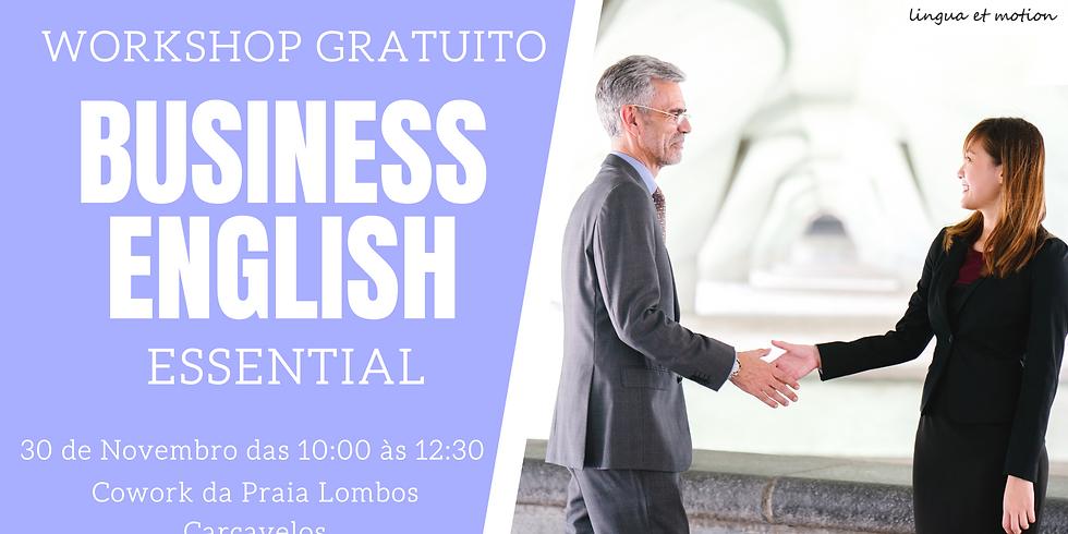 Workshop GRATUITO: Business English   Essential