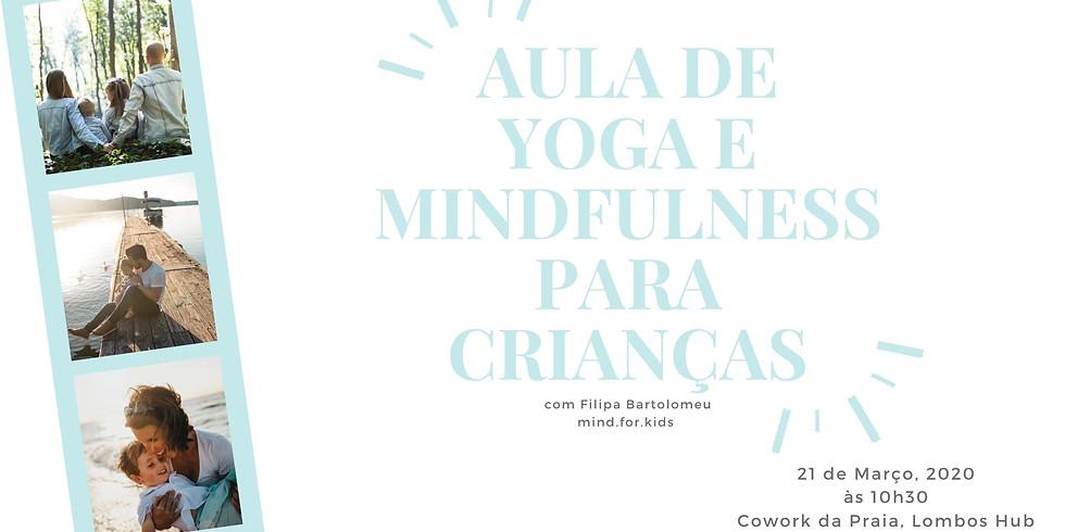 Aula de Yoga e Mindfulness para Crianças