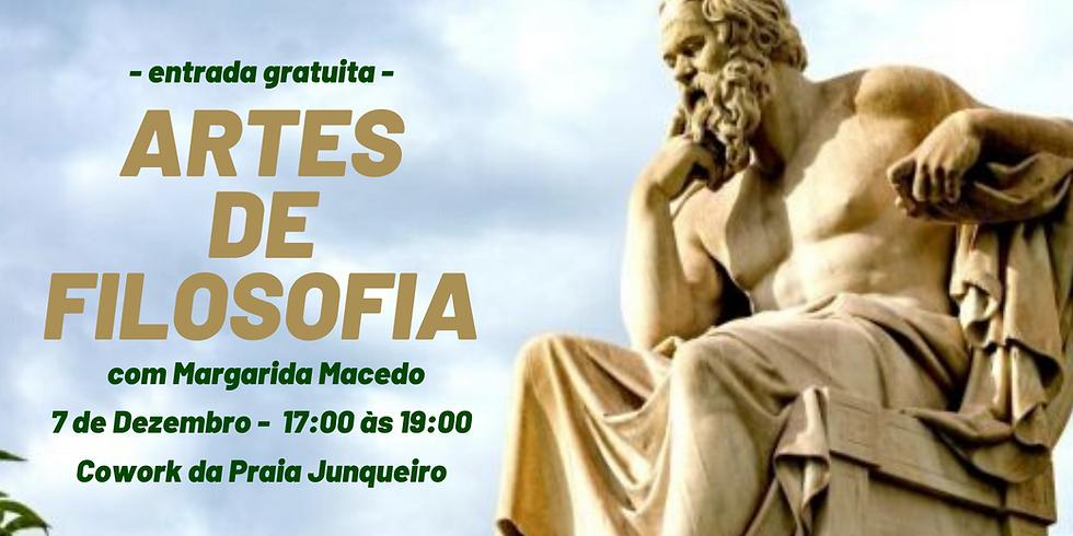 Palestra ARTES DE FILOSOFIA com Margarida Macedo