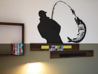 Wandgestaltung Raumschöpfer Airbrush