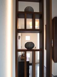 Holztrennwand Präsentation Ineterior Design