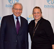 Gaynel and Bob Woodward