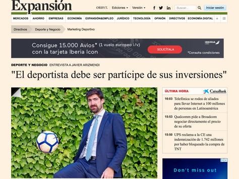 """EXPANSION: """"El deportista debe ser partícipe de sus inversiones"""""""