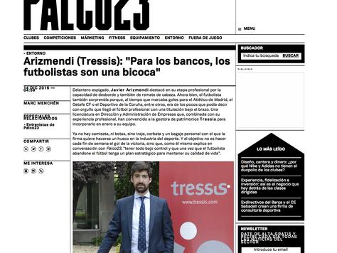 """PALCO 23: """"Para los bancos, los futbolistas son una bicoca"""""""