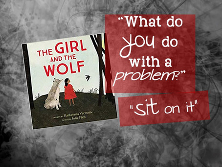 What do you do with a problem? … Sit on it.