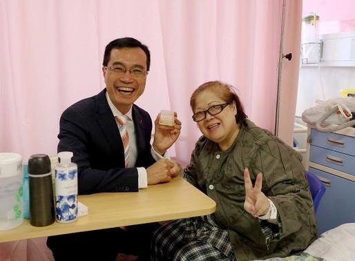【新聞分享】Dr.東:吞嚥困難亦可啖軟月餅 東院病人笑迎中秋