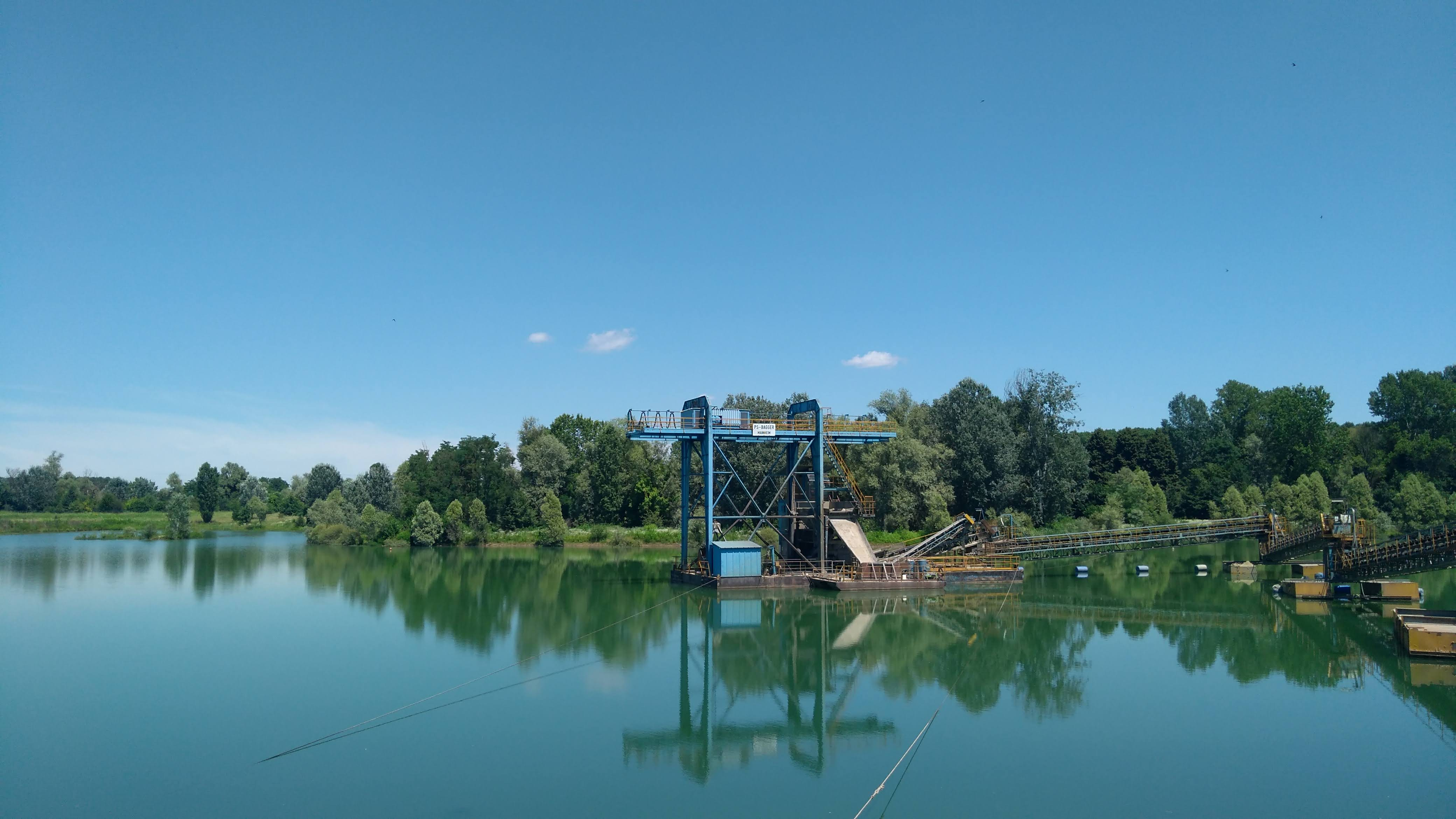 lago e impianto