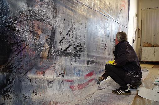 Jan Franzen artist painting artwork slee