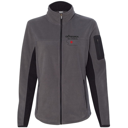 Colorado Clothing Women's Colorblocked Full-Zip Microfleece Jacket (Colo 5297)
