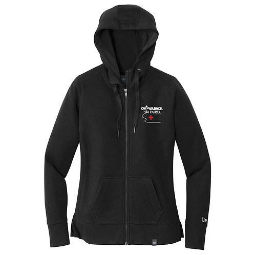 New Era Women's French Terry Full-Zip Hoodie (LNEA502)