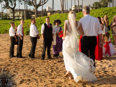 Morganne & Tyler ~ Married at Ulua Beach