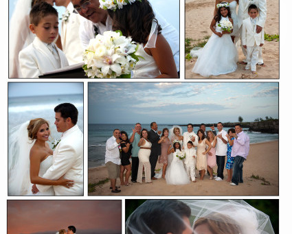 Vanessa & Tommy, Married at Ironwoods Beach