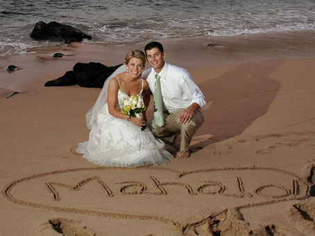 Thank You Note From Lori & Nick – Merriman's Maui Wedding
