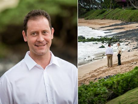 Allison & Sean ~ Married at Ulua Beach