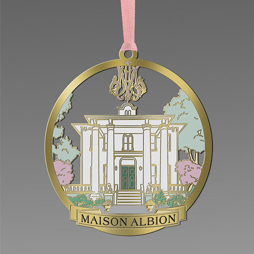 Maison Albion Holiday Ornament