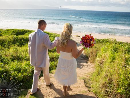 Jennifer & Brandon ~ Married at Ironwoods Beach