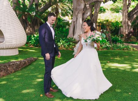 Maui Wedding Packages | Chris and Kaleena's touching Maui Wedding at Wailea Beach Resort