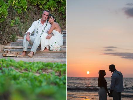 Elizabeth & Steven ~ Wailea Beach