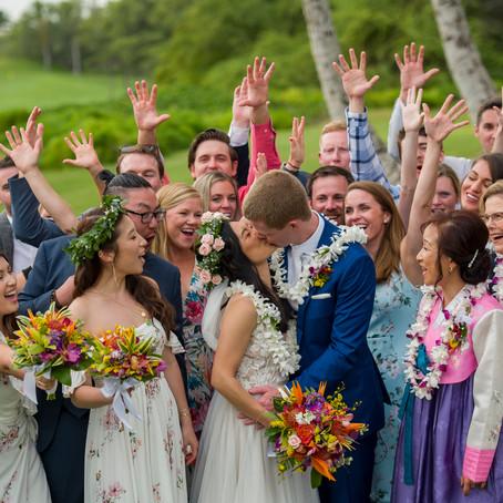 "Maui Wedding Planner   Gannon's Wailea   Roseae and Brock's Wailea ""I Do's"""