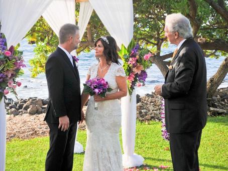Janna & Christopher ~ Married at The Wailea Marriott Beach Resort & Spa
